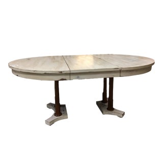 Expandable Round Farm Table