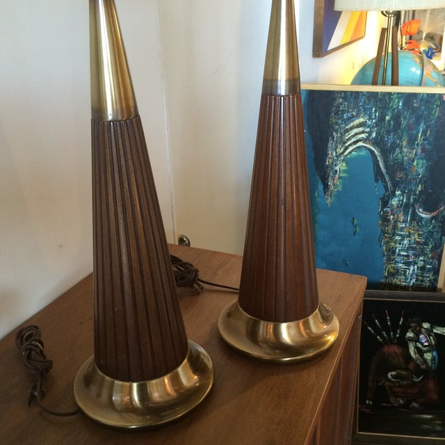Mid-Century Rembrandt Table Lamps - A Pair - Image 5 of 6