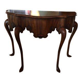 Calda Mexican Chippendale Console