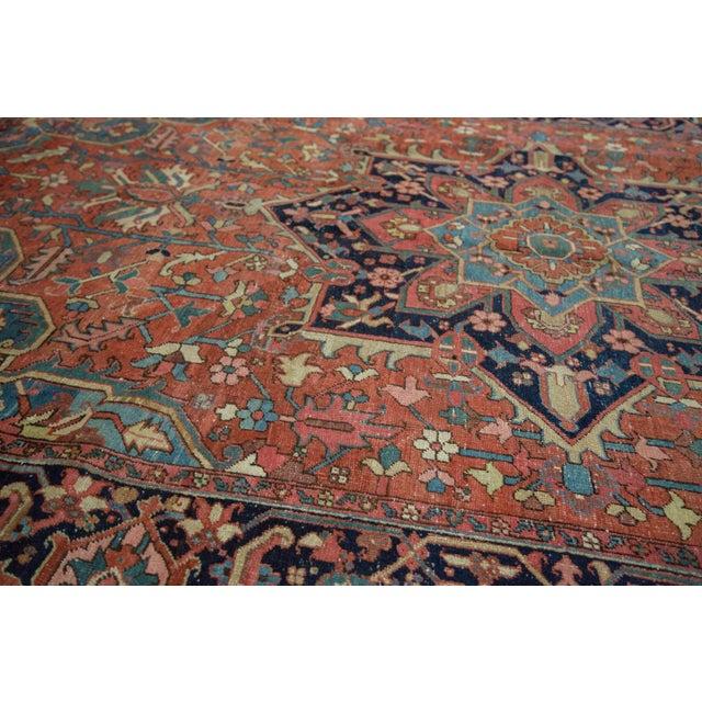 "Vintage Heriz Carpet - 9' X 11'8"" - Image 7 of 10"
