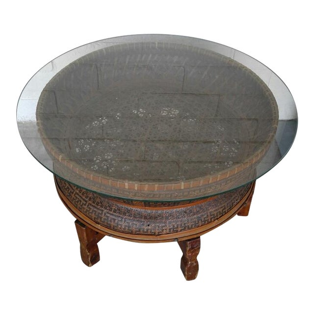 Boho Style Coffee Table - Image 2 of 7