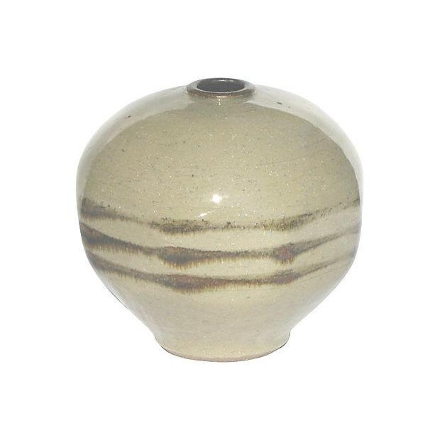 Image of Vintage Art Pottery Piece, Artist Signed & Dated