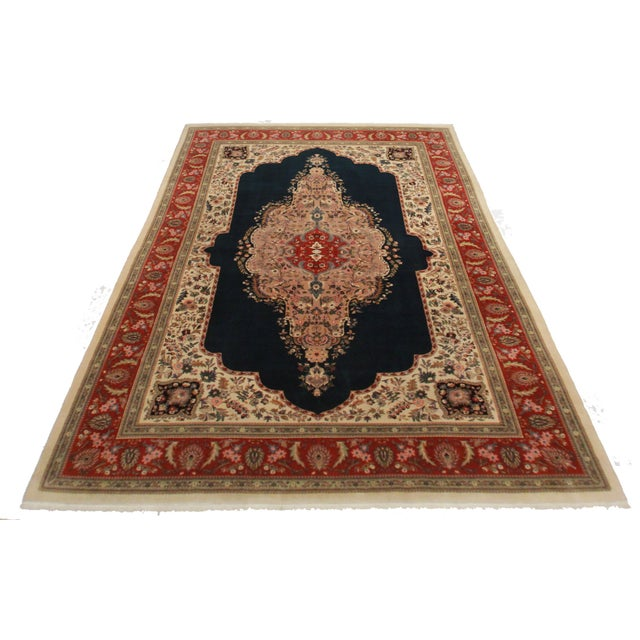 RugsinDallas Hand Knotted Fine Wool Persian Tabriz Rug - - Image 2 of 2