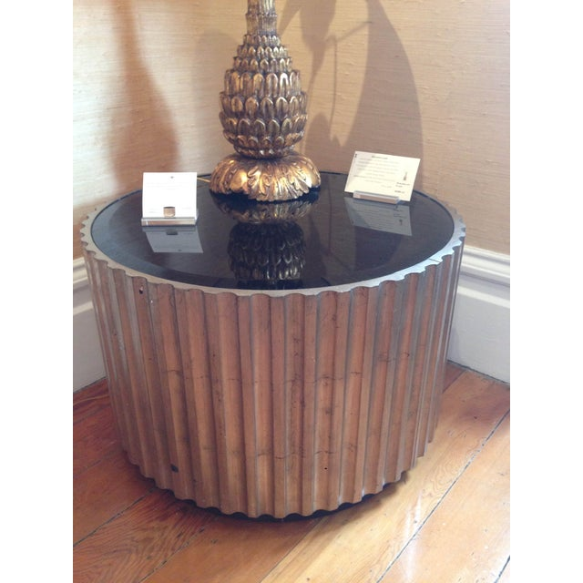 Mid 20th Century Hand Carved Circular Low Table - Image 3 of 3