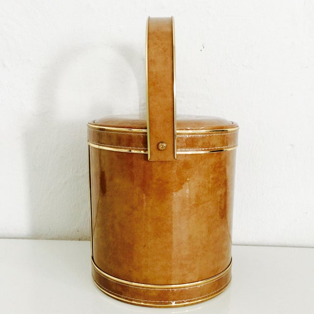 George Briard Mid-Century Modern Ice Bucket - Image 5 of 10