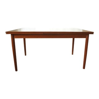 Danish Mid-Century Extension Dining Table