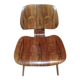 Rare Brazilian Rosewood Eames LCW Chair