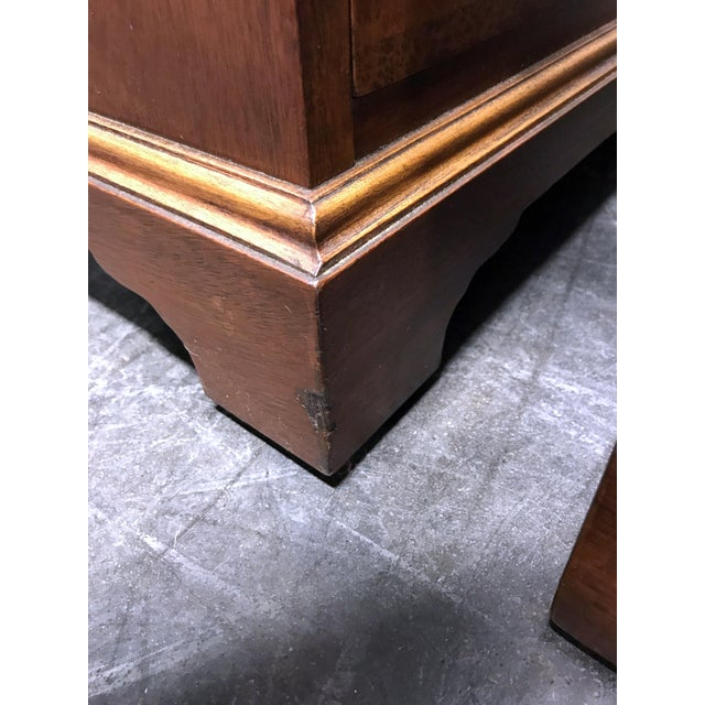 Mahogany Chippendale Bedside / Chairside Chests - Pair - Image 9 of 11
