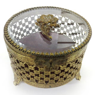 Brass Jewelry Casket