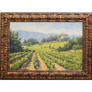 """The Vineyard"" Painting by Richard Boyer"