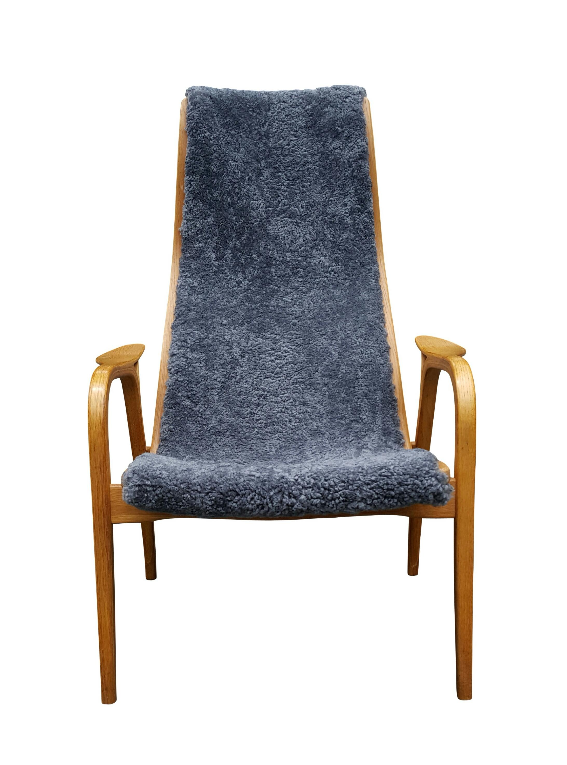 Swedese Swedish Lamino Lounge Chair Chairish