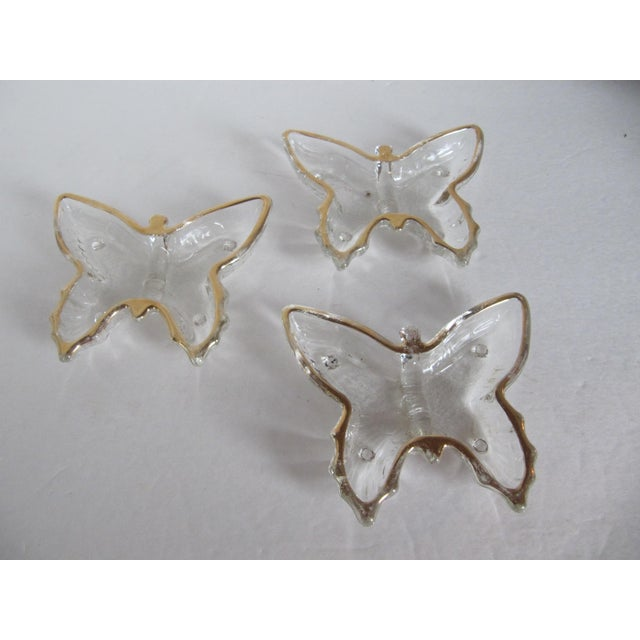 Vintage Butterfly Dishes - Set of 3 - Image 3 of 4