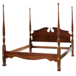Kincaid Four Post King Size Rice Bed