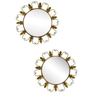 Convex Mirrors from Belgium - A Pair