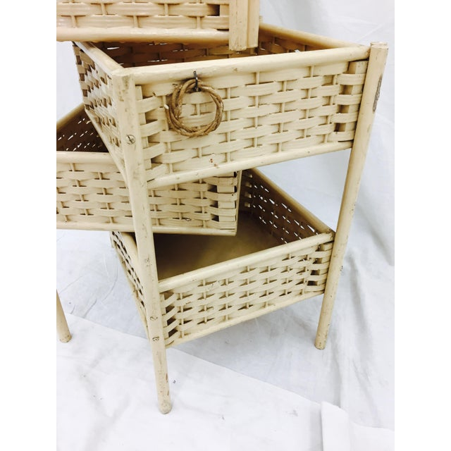 Antique Victorian Sewing Table - Image 9 of 9