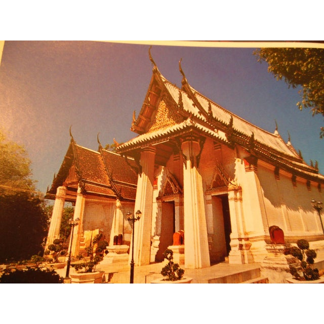 Image of 2-Bell Chofa Thai Antique Temple Rooftop Finial