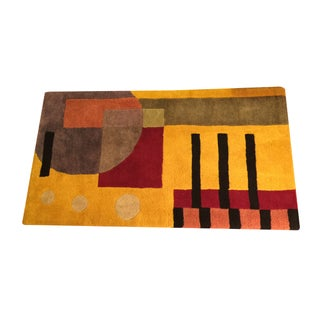 Contemporary Wool Rug - 2′6″ × 4′5″