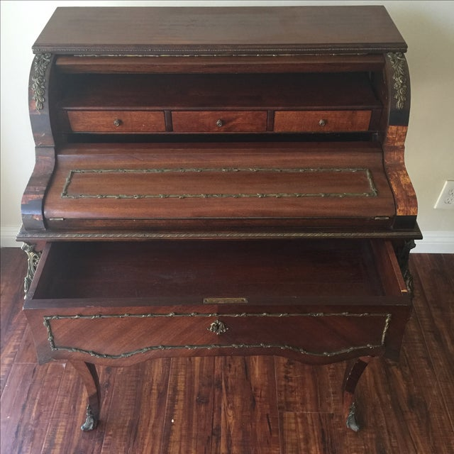Antique French Style Ladies Desk - Image 9 of 11