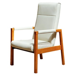 Mid Century High Back Flex Chair