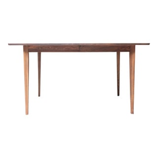Walnut Mid-Century Modern Extension Dining Table