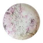 Image of Large Pink & Gold Sascha Brastoff Platter