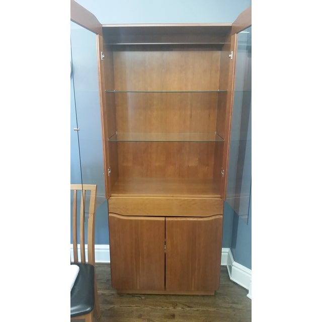 Skovby #352 Display Cabinet in Cherry Wood - Image 2 of 5