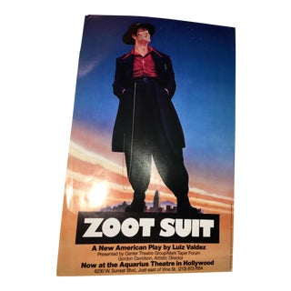 Zoot Suit Original Forum Theater Poster, 1978