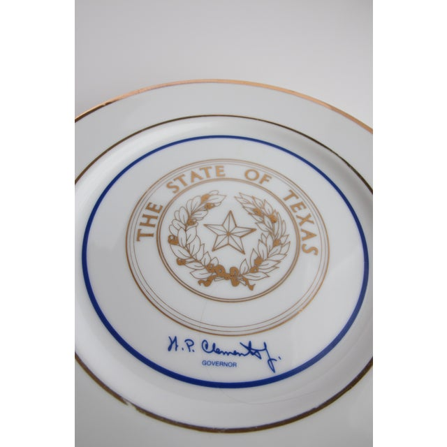 Image of State of Texas Souvenir Plate