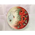 Image of Limoges France Decorative Poppy Plate