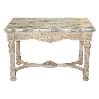 19th c. French Carved Center Table