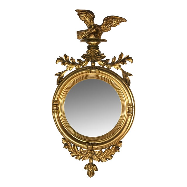 Image of Federal Style Italian Convex Mirror