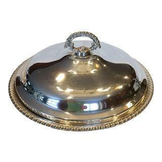 Silver Plated Serving Dish Bowl