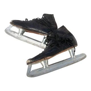 Vintage Ice Skates - A Pair