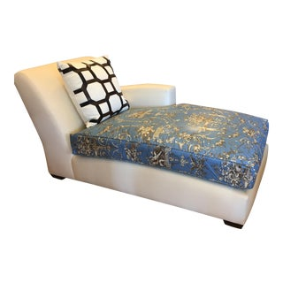 Christian Liaigre Nabob Chaise Lounge From Leonard Nemoy's Estate