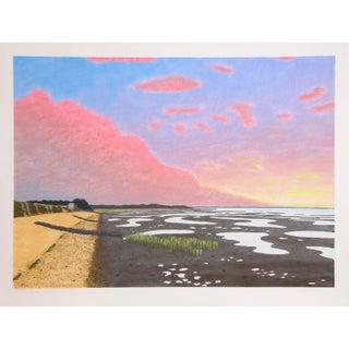 Bill Sullivan Low Tide 15 Hand Colored Lithograph