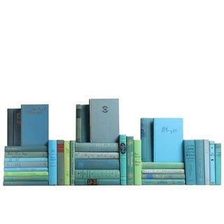 Mid-Century Ocean Classic Books - Set of 35