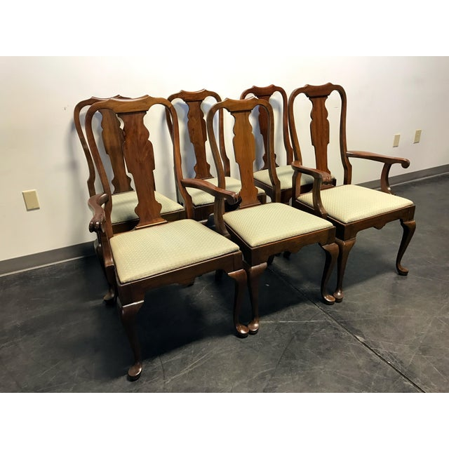Pennsylvania House Queen Anne Dining Chairs - Set of 6 ...