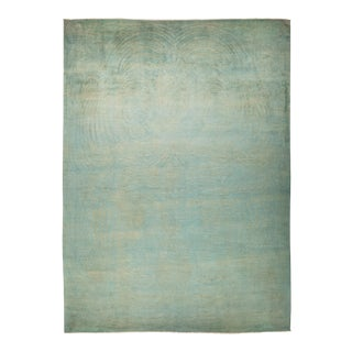 "Vibrance Collection Hand Knotted Area Rug - 9' 10"" X 13' 7"""