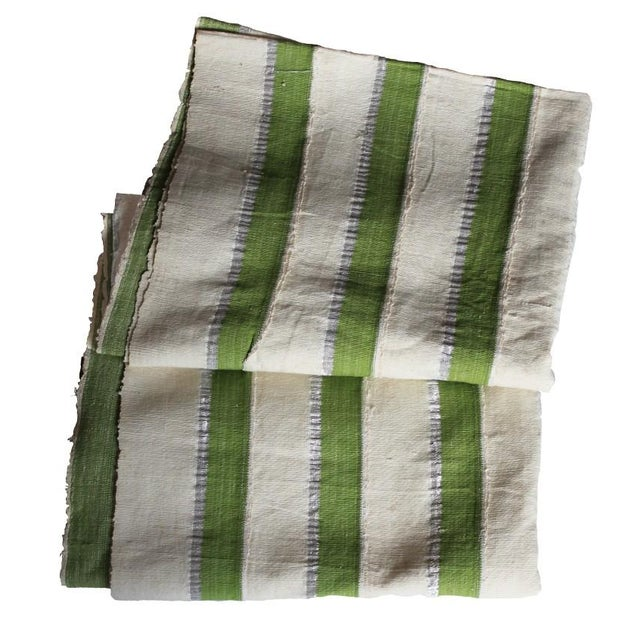 Vintage Striped African Textile - Image 1 of 4
