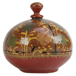 Autumn Kashmiri Painted Box