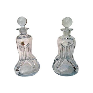 Holmegaard Decanters - A Pair