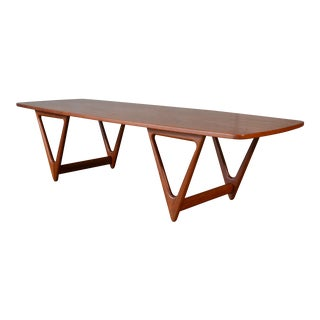 Kurt Ostervig for Jason Mobler Teak Coffee Table