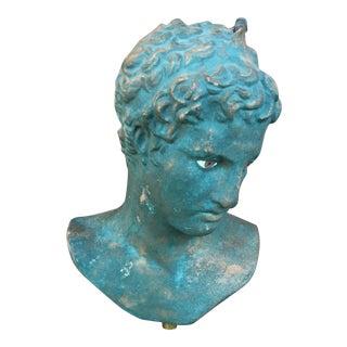 Vintage Plaster Greek Bust