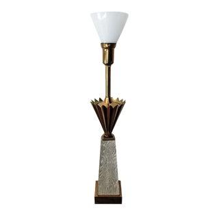 Stiffel Art Deco-Style Lamp
