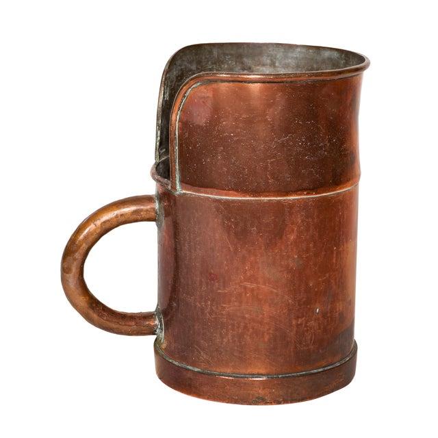 Image of Antique Copper Pitcher