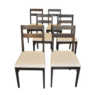 Oak Dining Chairs by Nuevo- Set of 6
