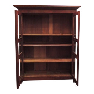 19th C Caribbean French Colonial Bookcase