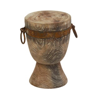 Iron Strap Stump Stool