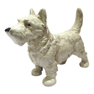 Cast Iron West Highland Terrier Doorstop