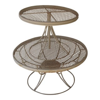 Homecrest Mid-Century Modern Wire Tables - A Pair